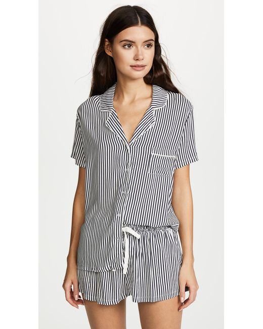 Splendid - Multicolor Always Stripe Pj Set - Lyst