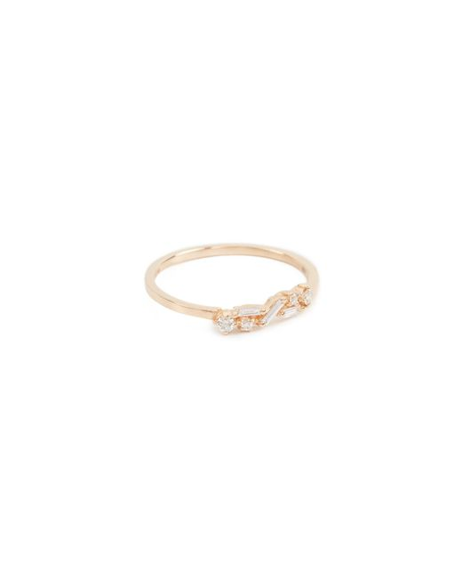 Suzanne Kalan - Metallic Fireworks 18k Gold Diamond Cluster Ring - Lyst