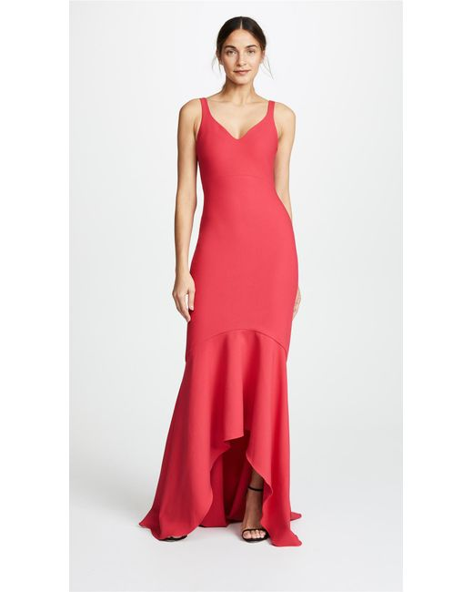 Cinq à Sept Sade Gown In Red Lyst