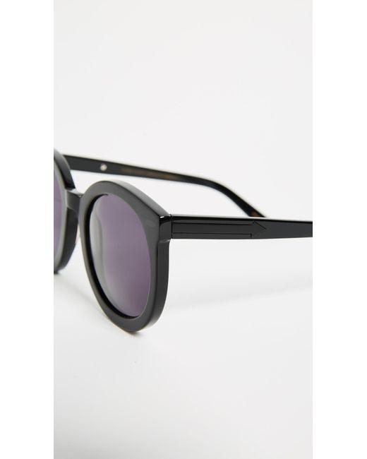 9764cf68e0c Lyst - Karen Walker Super Duper Strength Sunglasses in Black - Save ...