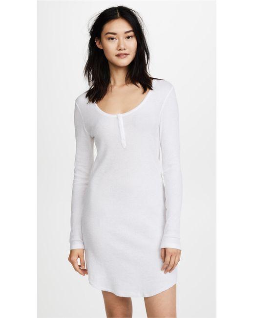 Skin | White Wynn Pj Dress | Lyst
