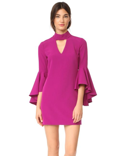 MILLY | Multicolor Italian Cady Andrea Dress | Lyst