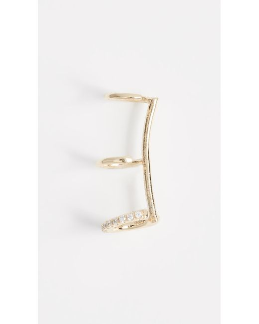 Shashi - Metallic Mercy Ear Cuff - Lyst