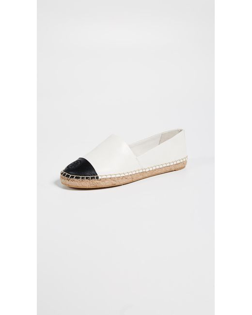 Tory Burch - Natural Colorblock Espadrilles - Lyst