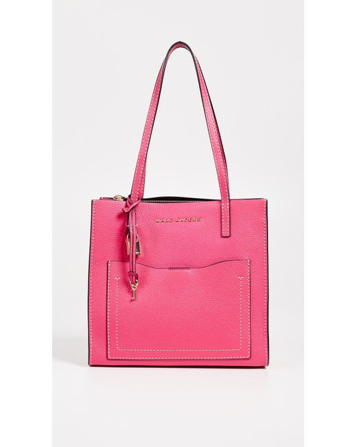 Marc Jacobs - Pink Medium Grind T Pocket Tote - Lyst