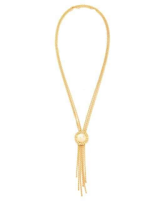 Rosantica | Metallic Chain Lariat Necklace | Lyst