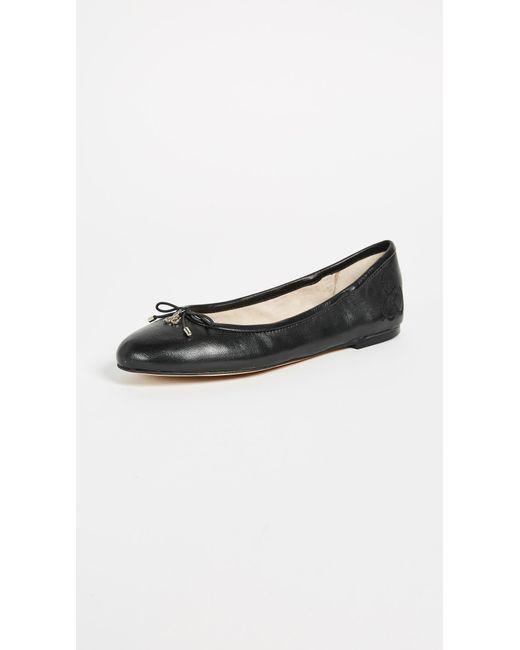 Sam Edelman | Black Felicia Ballet Flats | Lyst