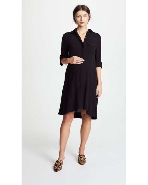 HATCH - Black The Shirtdress - Lyst