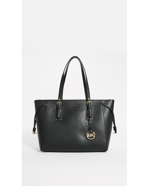 MICHAEL Michael Kors - Black Voyager Tote - Lyst