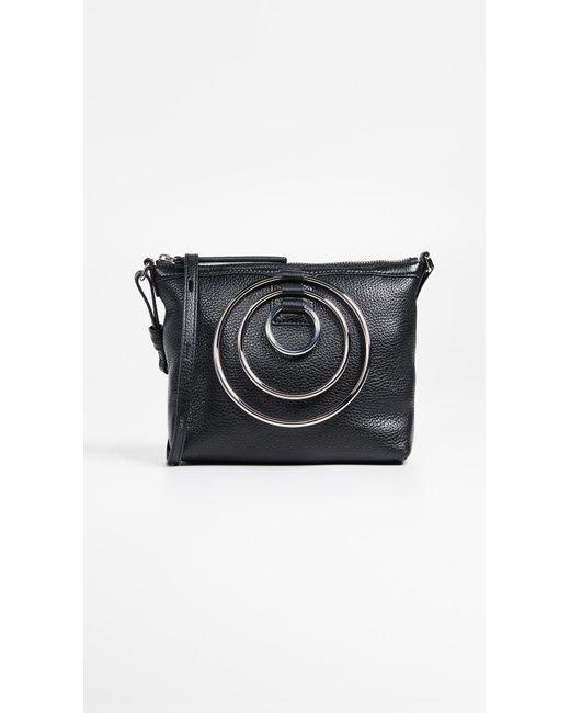 Kara - Black Multi Ring Cross Body Bag - Lyst