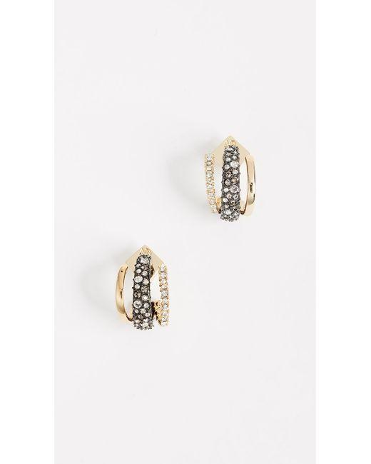 Alexis Bittar | Metallic Floating Orbit Earrings | Lyst