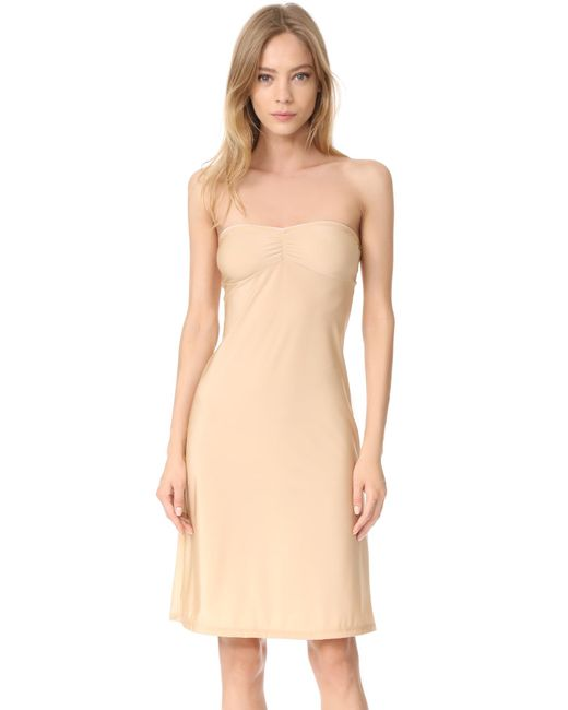 Only Hearts | Natural Second Skins Strapless Slip | Lyst