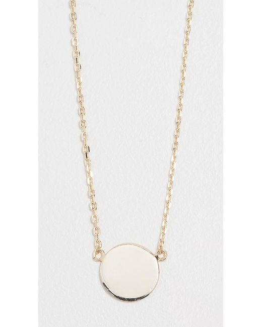 Shashi - Metallic Dorothy Necklace - Lyst