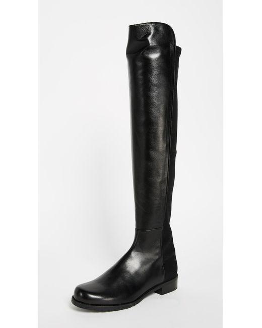 Stuart Weitzman - Multicolor '5050' Boots - Lyst