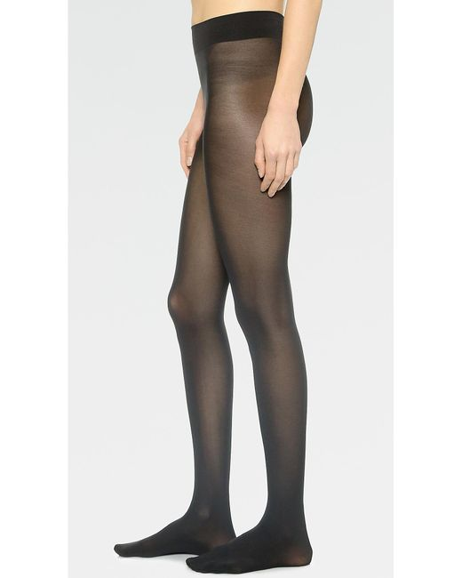 Wolford - Black Seamless Pure 50 Tights - Lyst
