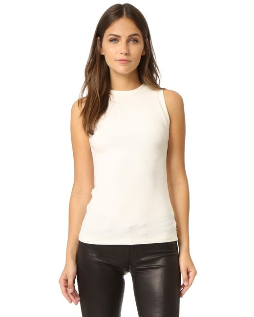 Getting Back to Square One - Multicolor Ribbed Muscle Tee - Lyst