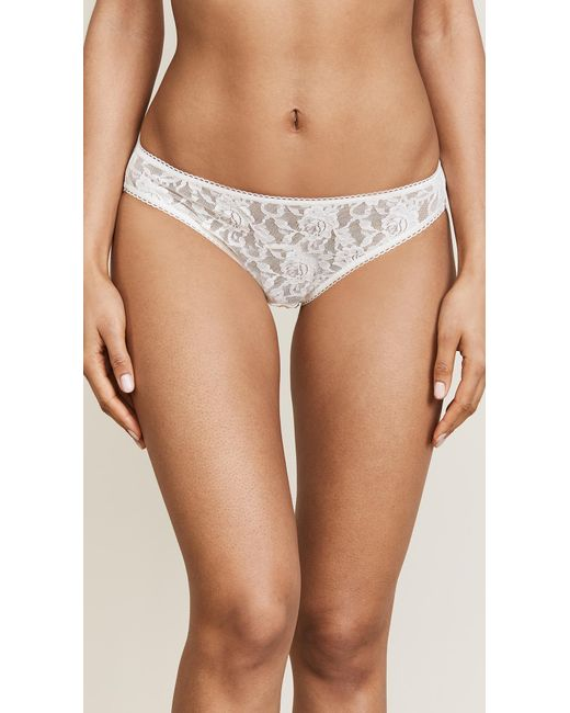 Hanky Panky - White Signature Lace Bikini Briefs - Lyst