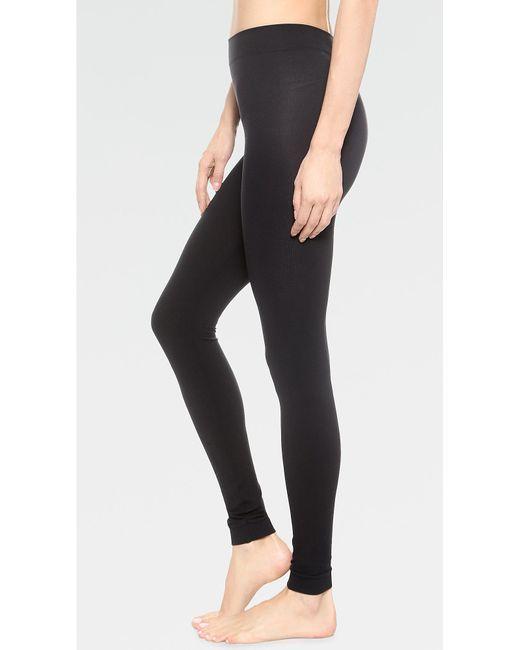 Wolford - Black Velvet 100 Leg Support Footless Tights - Lyst