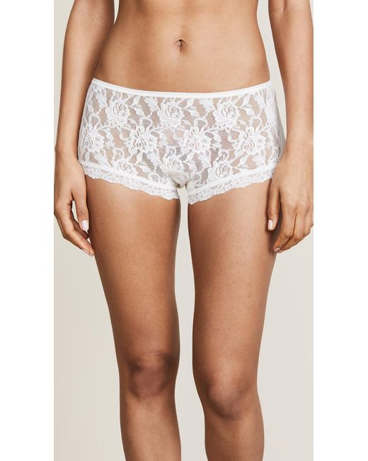Hanky Panky - White Signature Lace Betty Briefs - Lyst