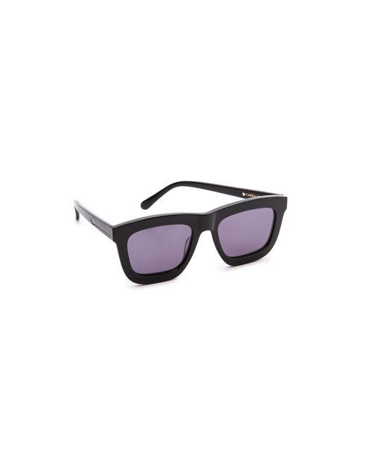 Karen Walker - Purple Deep Worship Sunglasses - Lyst