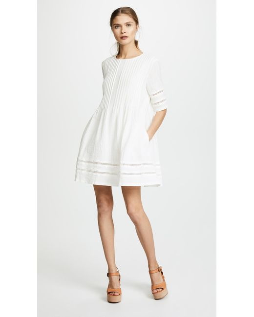 Knot Sisters White Phillips Dress