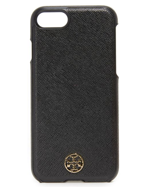 Tory Burch | Black Robinson Hardshell Iphone 7 Case | Lyst