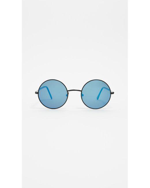 Lgr - Blue Elliot Sunglasses - Lyst