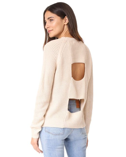 BB Dakota | Natural Jack By Percival Sweater | Lyst
