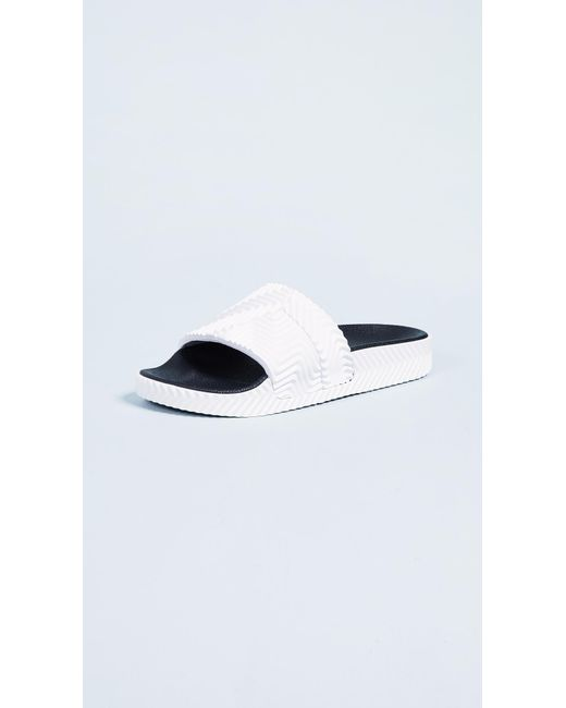 Alexander Wang - White Adidas Originals By Aw Adilette Slides - Lyst