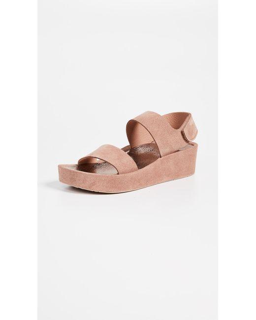 Pedro Garcia - Multicolor Lacey Platform Sandals - Lyst