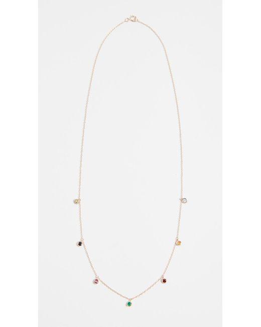 Ariel Gordon - Multicolor Candy Crush Droplet Necklace - Lyst