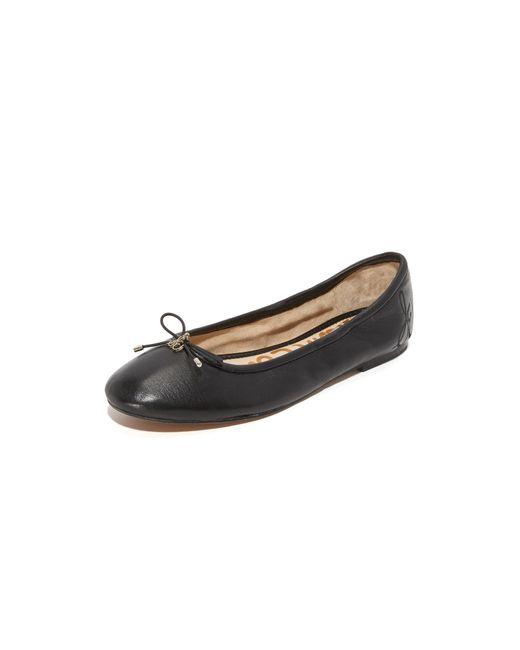 Sam Edelman   Black Felicia Ballet Flats   Lyst