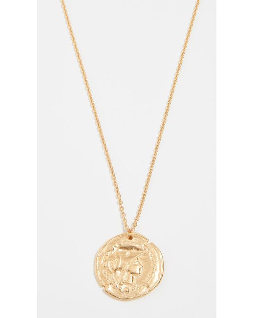 Jacquie Aiche - Metallic Lage Antique Coin Necklace - Lyst