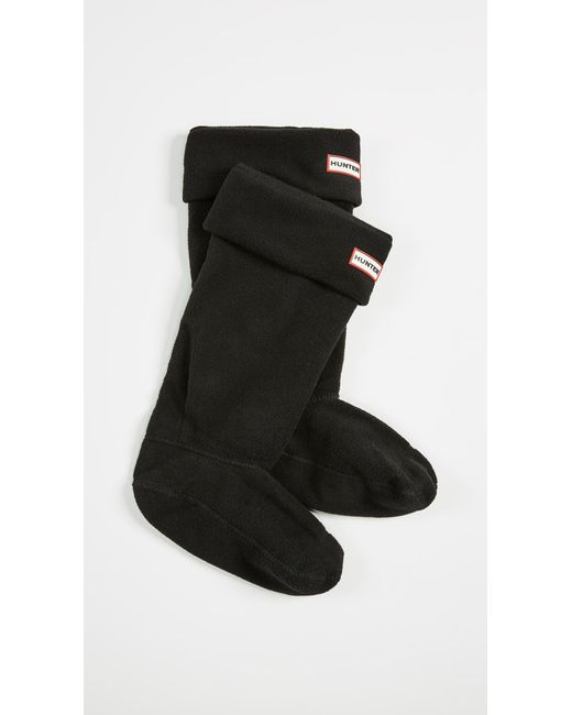 Hunter - Black Boot Socks - Lyst