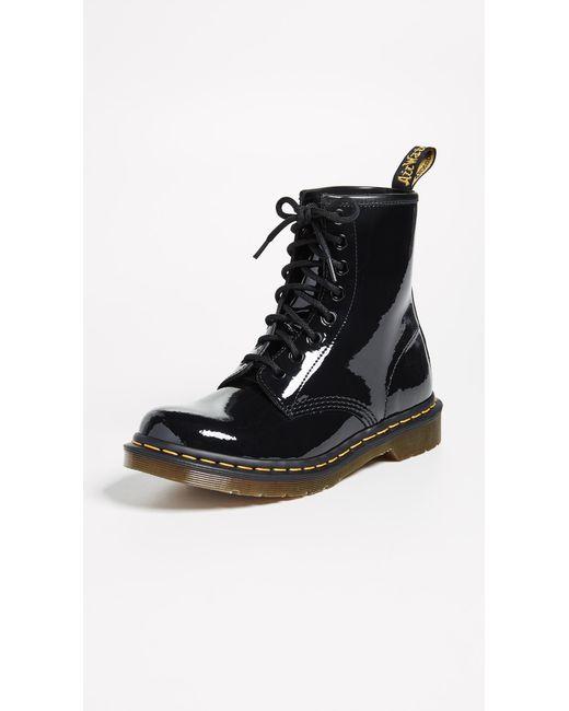Dr. Martens - Black 1460 8 Eye Boots - Lyst