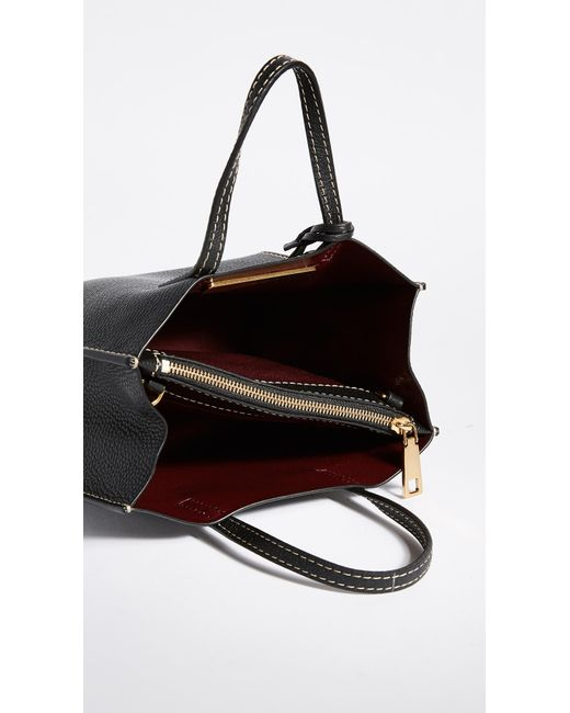 42ad12316fcaf Lyst - Marc Jacobs Mini Grind Tote in Black - Save 6%