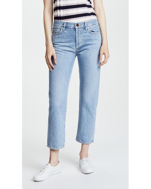 Goldsign - Blue The Low Slung Jean - Lyst