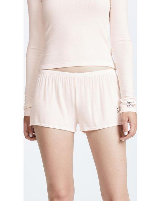 Les Girls, Les Boys - Multicolor Fine Rib Shorts - Lyst