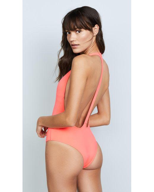 Peixoto - Pink Flamingo Swimsuit - Lyst
