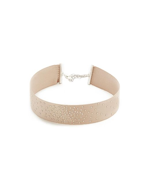 Chan Luu | Gray Sparkle Choker Necklace | Lyst
