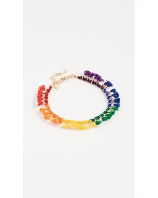 Shashi | Multicolor Jamie Bracelet | Lyst