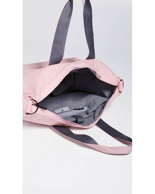 6308f7ae7a20 ... Adidas By Stella McCartney - Pink Studio Bag Tote - Lyst ...