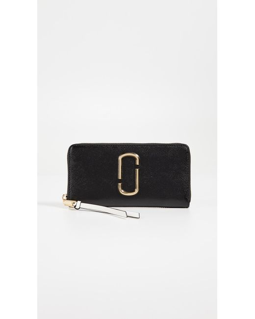 Marc Jacobs - Black Snapshot Continental Wallet - Lyst