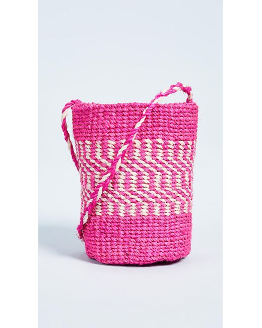 Hat Attack - Pink Mini Cross Body Bag - Lyst