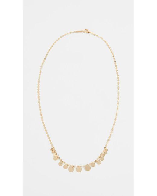 Lana Jewelry - Metallic 14k Mini Disc Chain Choker Necklace - Lyst