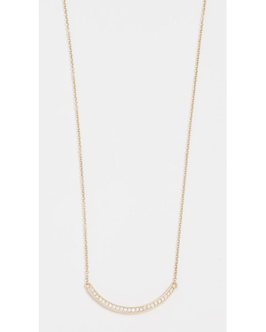 Jennifer Meyer - Metallic Diamond Stick Necklace - Lyst