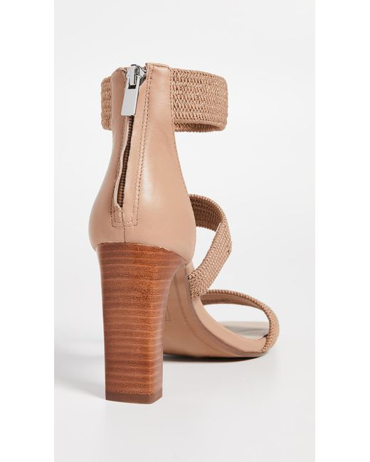 5f6cf83f1564 ... Steven by Steve Madden - Natural Jelly Strappy Sandals - Lyst ...