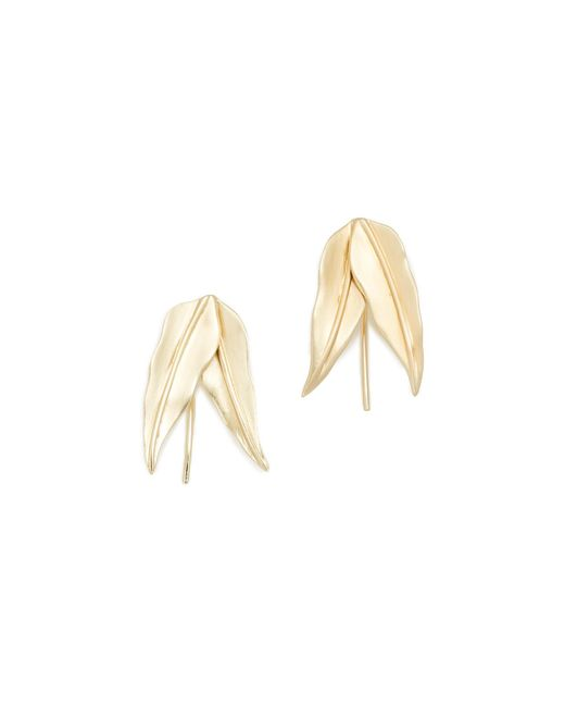 Elizabeth and James | Metallic Ren Earrings | Lyst