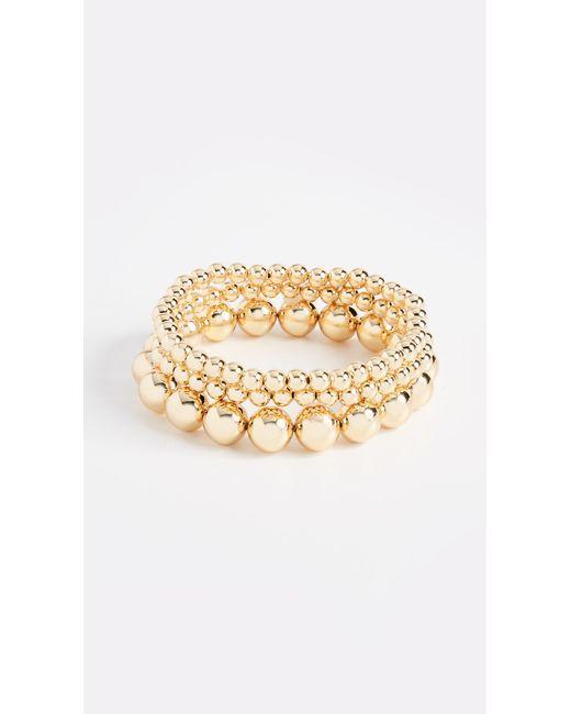 Gorjana | Metallic Newport Bracelet Set | Lyst