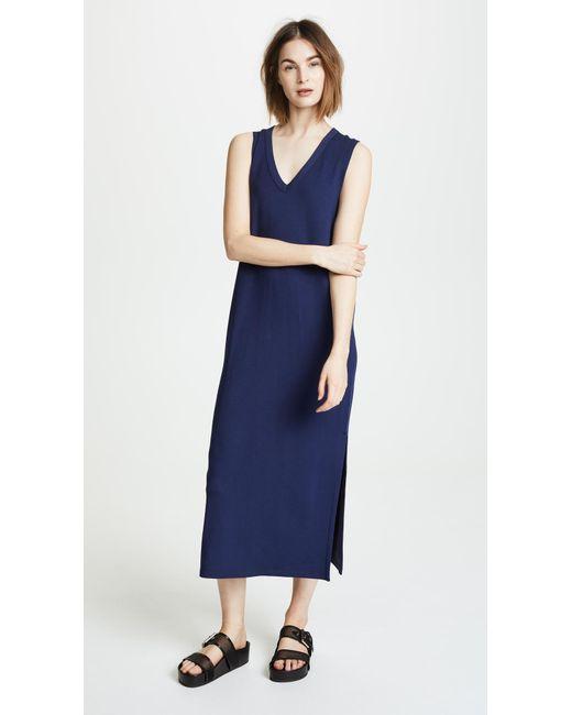 Rag & Bone - Blue Phoenix V Neck Dress - Lyst